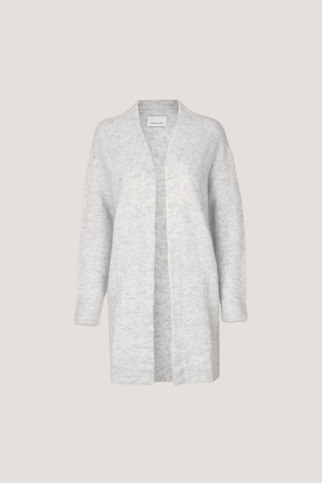 Nor cardigan 7355, WHITE MEL.