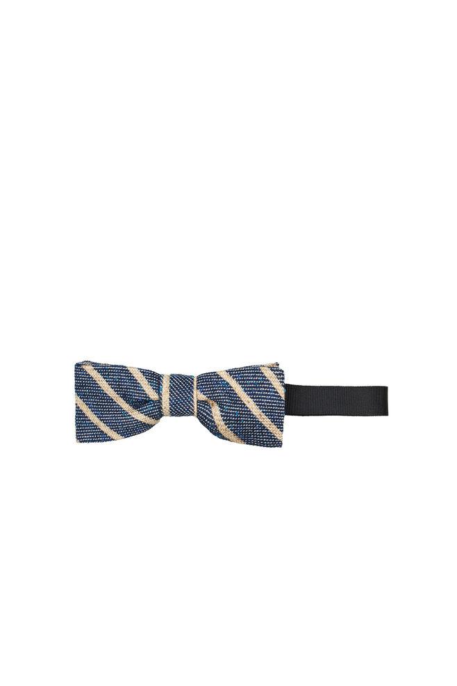 Henning bow tie 7798, BLUE MEL. ST