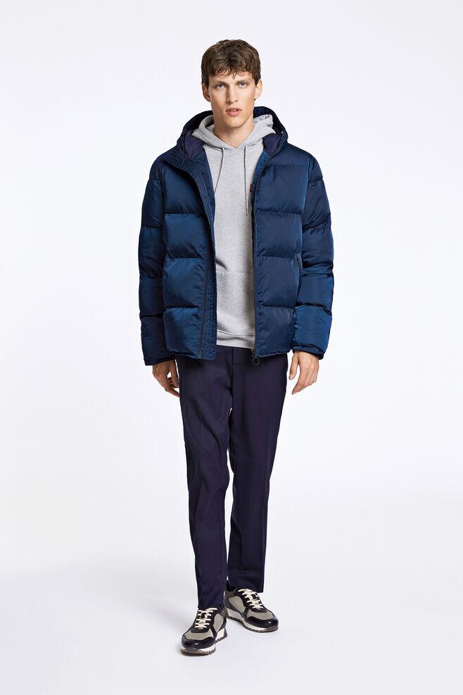 Minus hood jacket 9454, DARK SAPPHIRE