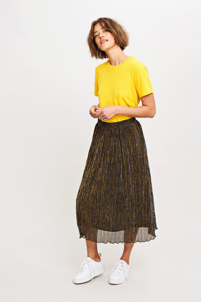 Paris skirt 8333, GOLD BLUE