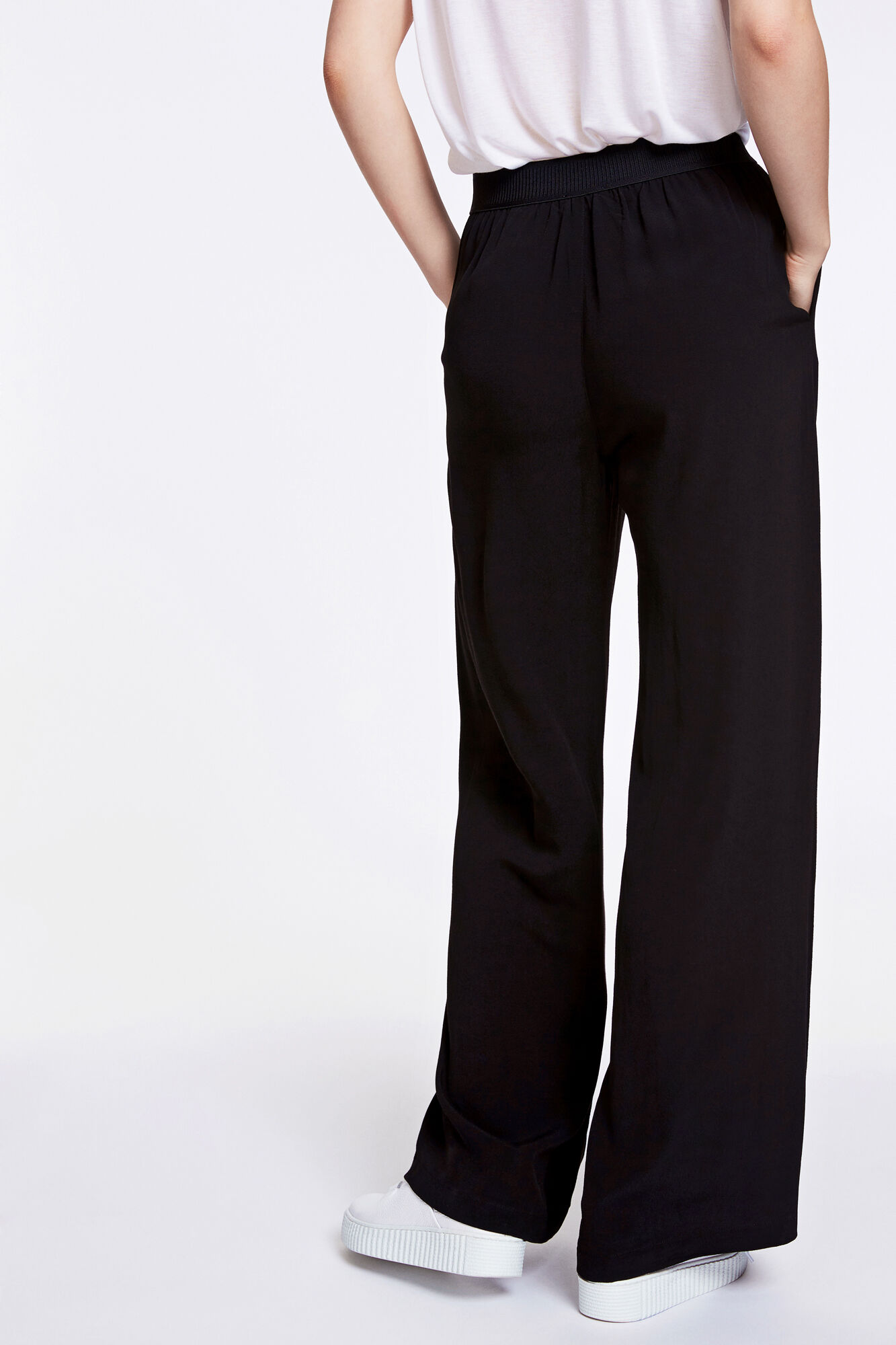 Nessie pants 6515, BLACK