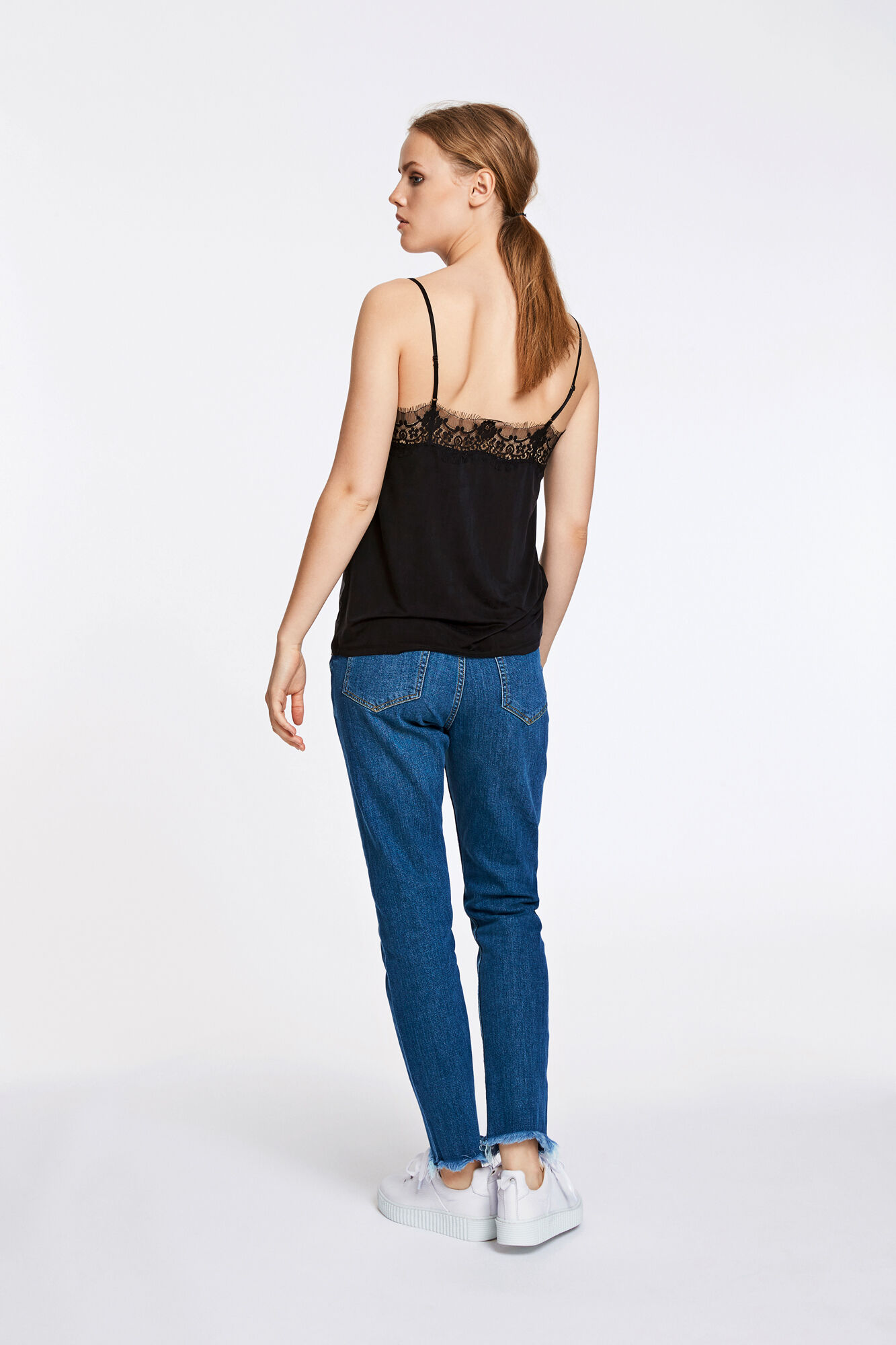 Slip top 6202, BLACK