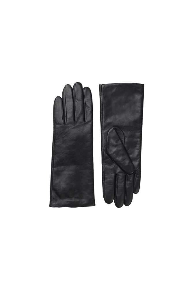 Polette glove long 8168, BLACK