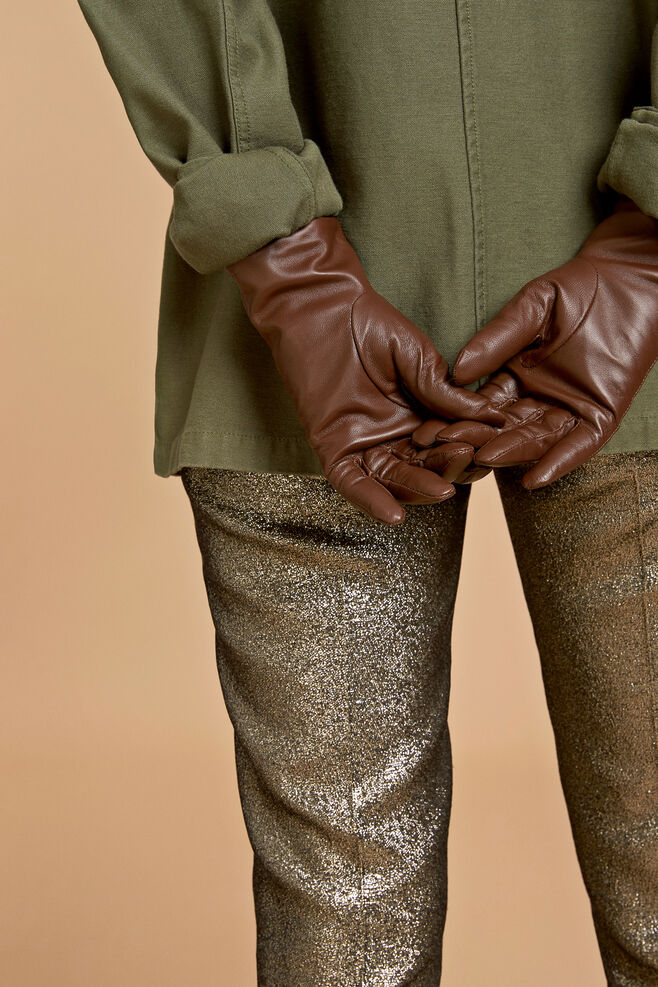 Polette glove 8168, COGNAC