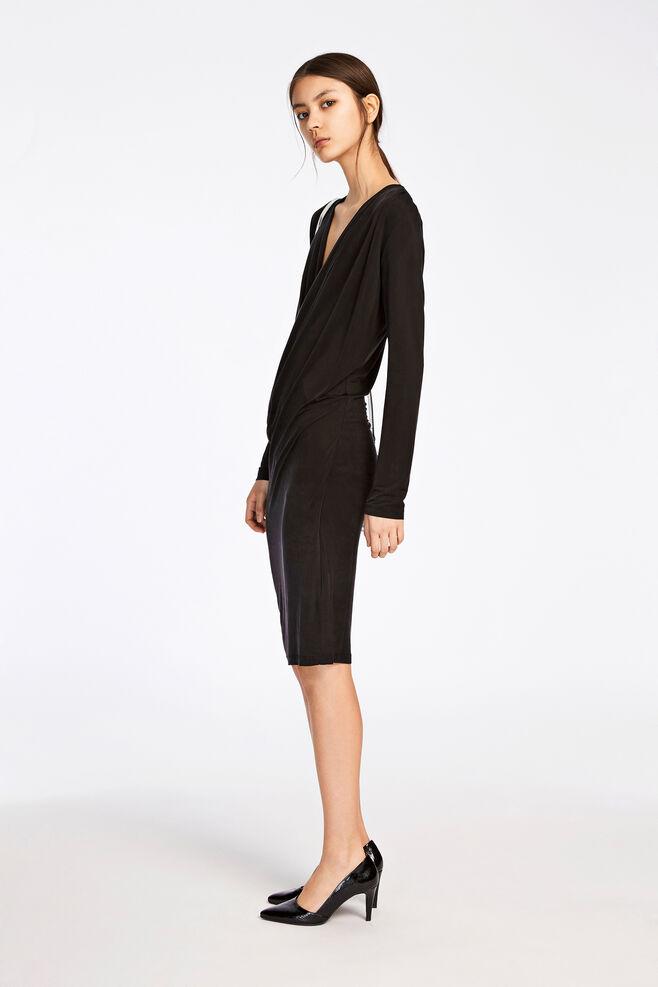 Rachel dress 6202, BLACK