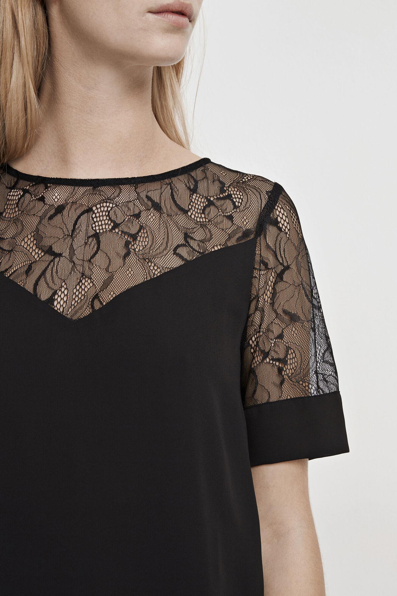 Biaf lace ss 6891, BLACK