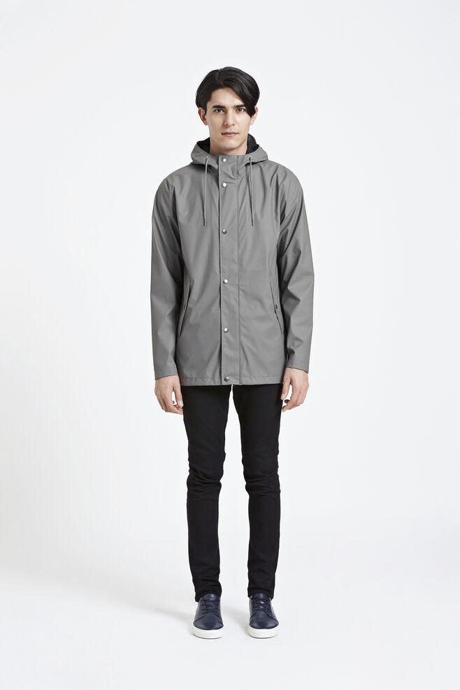 Drop jacket 7357, DARK GREY
