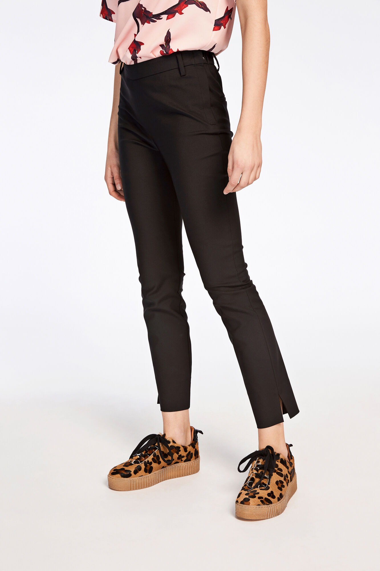 Lugo pants 6272, BLACK