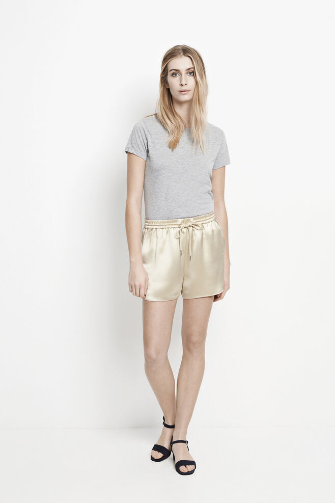 Mabel shorts 7945, PALE KHAKI