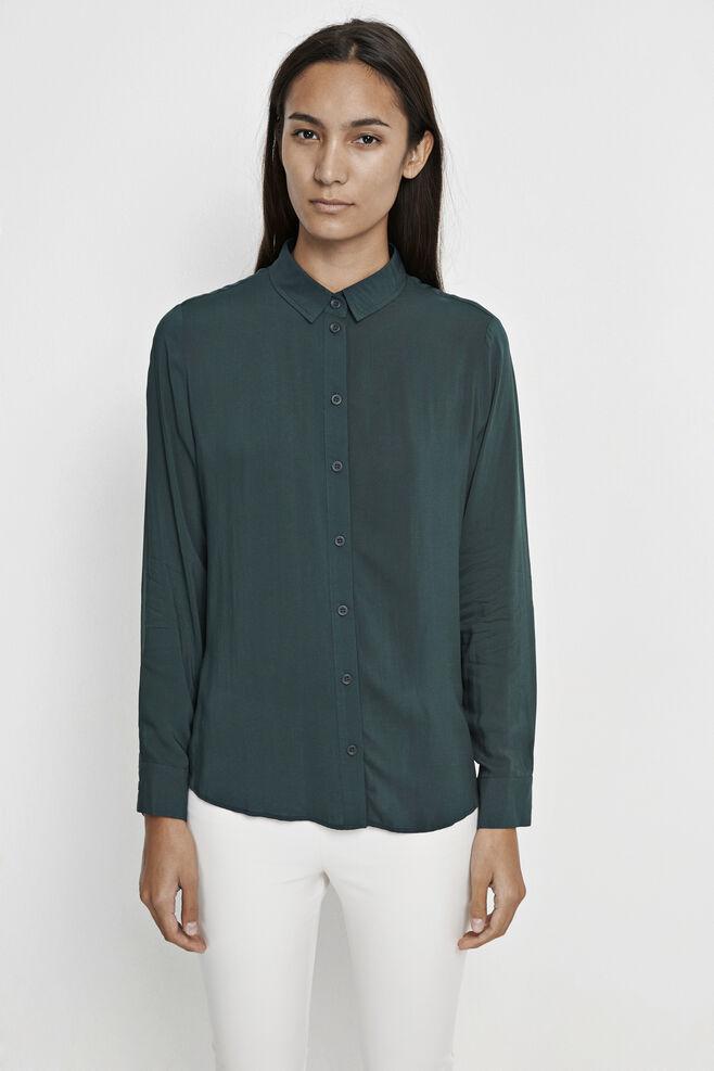 Maj ls shirt 3856, DARKEST SPRUCE