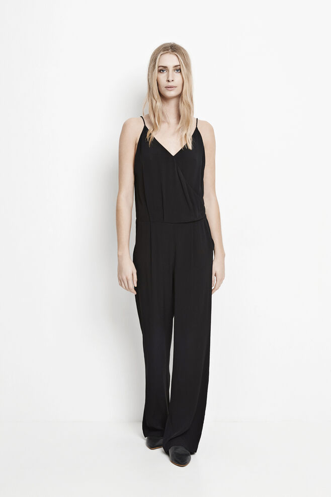 Ginni jumpsuit 6515, BLACK