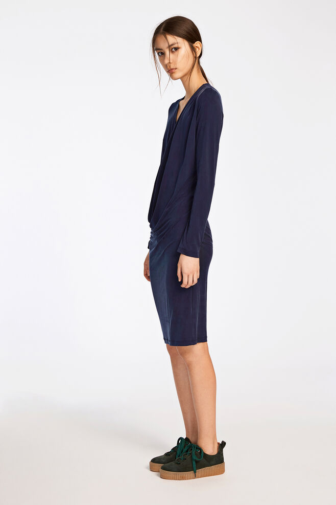Rachel dress 6202, DARK SAPPHIRE