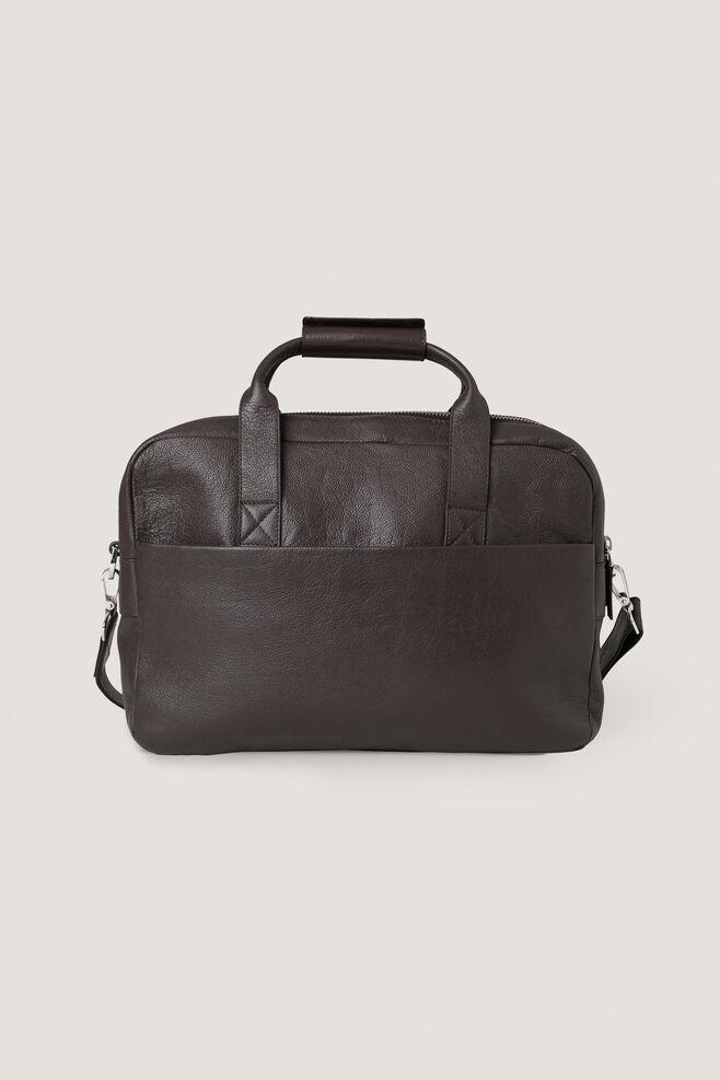 Miro briefcase double 3338, DARK BROWN