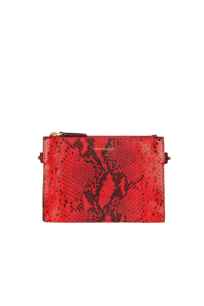 Ruby shoulder bag 9391, HIGH RISK RED