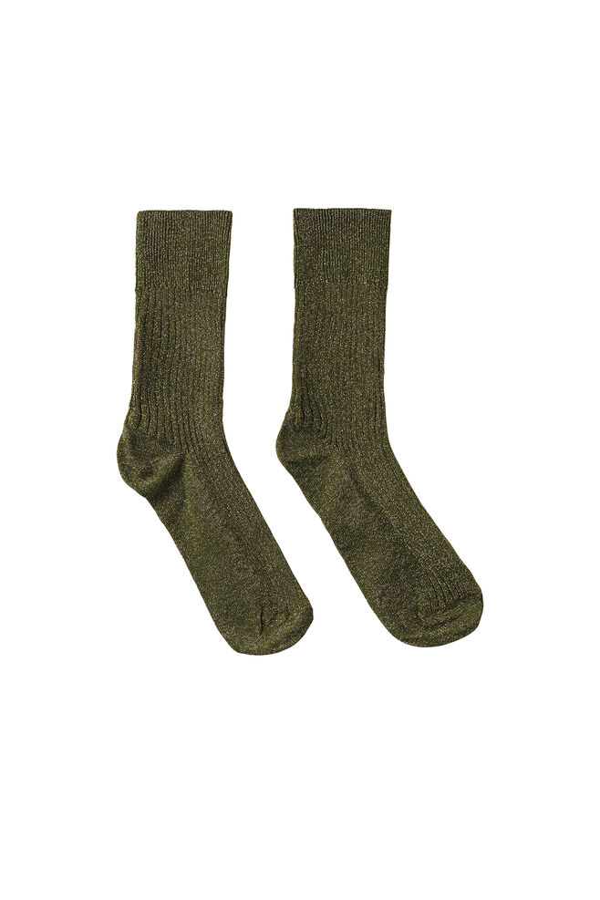 Anemone socks 9848, AVOCADO