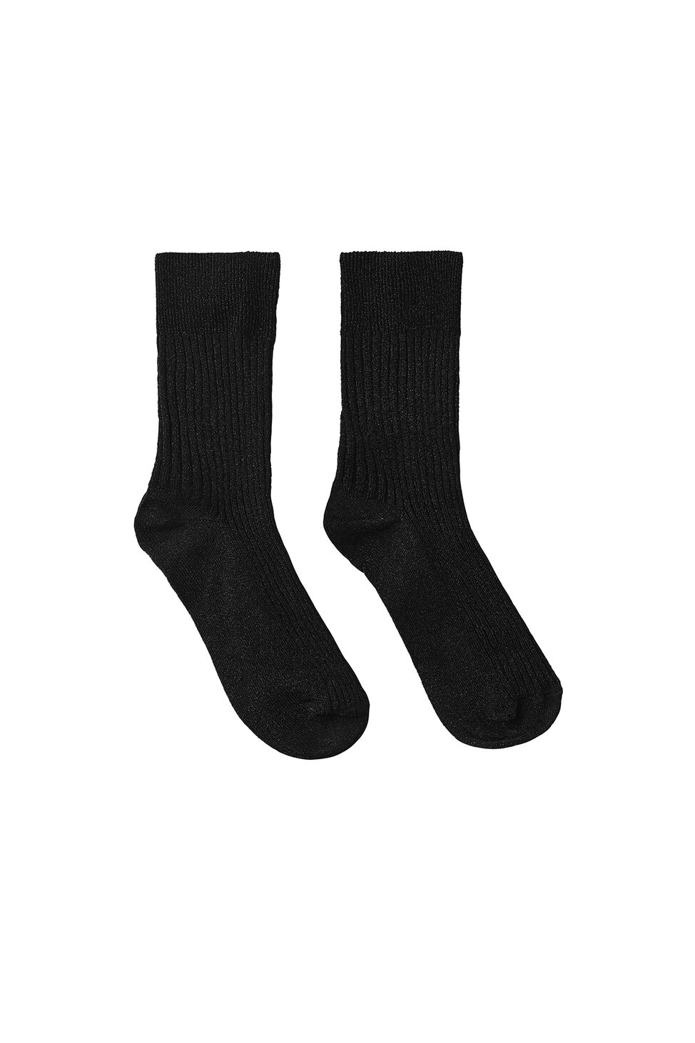 Anemone socks 9848, BLACK