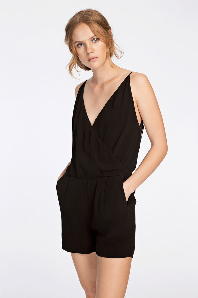 Ginni s jumpsuit 6515, BLACK