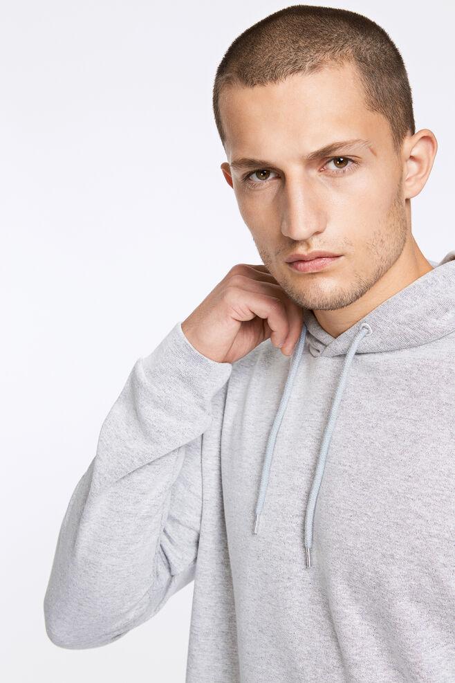 Enno hoodie ls 7057, LIGHT GREY MEL.