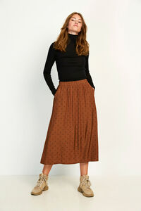 ENJUSTICE LONG SKIRT AOP 6658