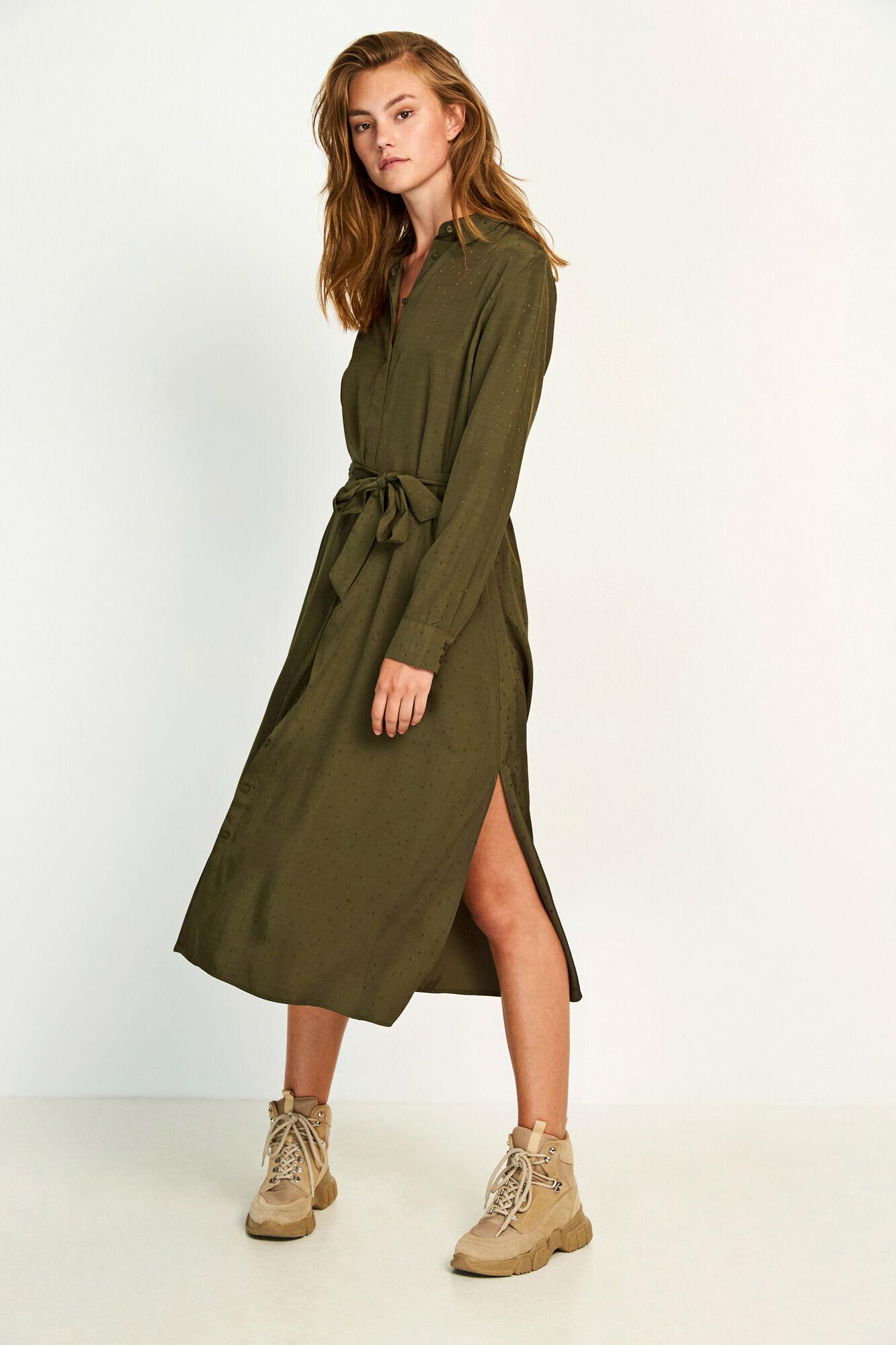 ENDATE LS DRESS 6658