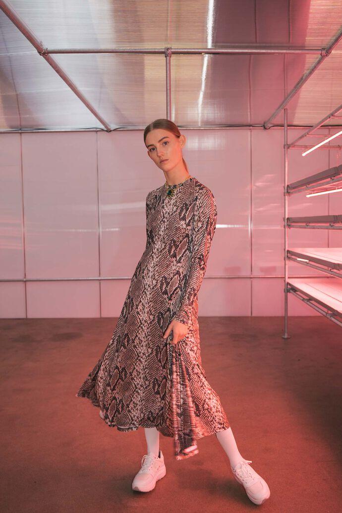 Paris dress 05280309, WOOD