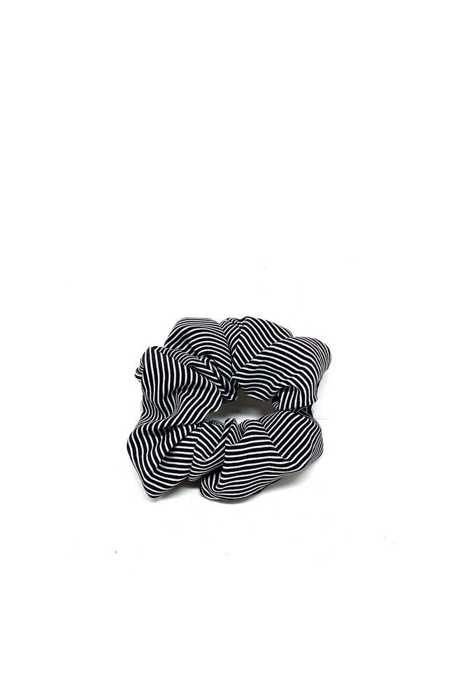 Scrunchies 8410001, BLACK STRIPE