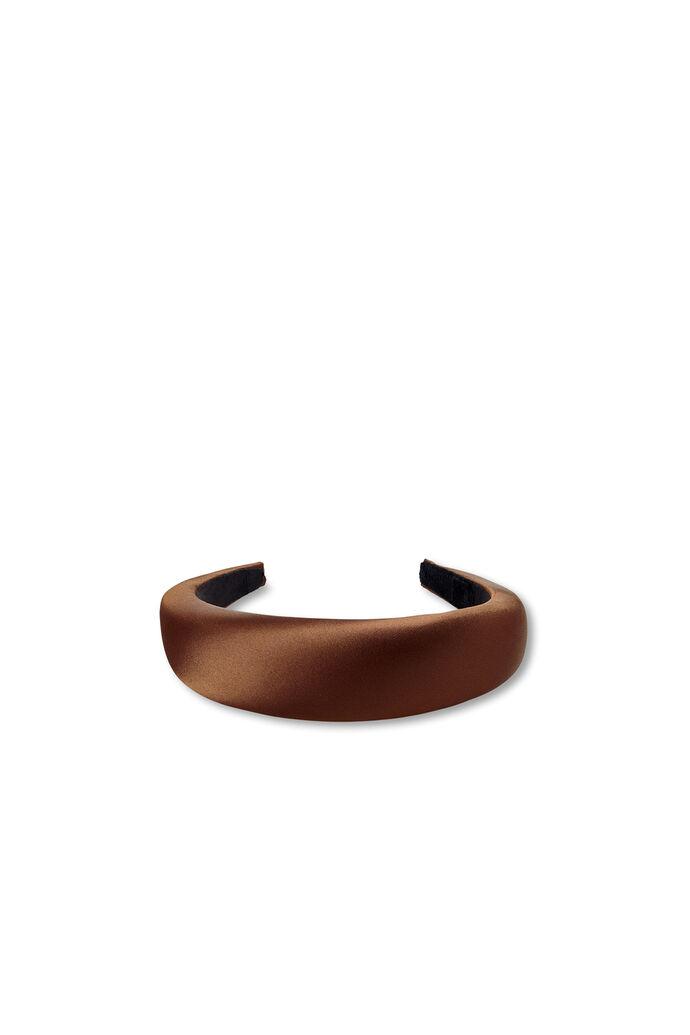 Satin headband, BRWON