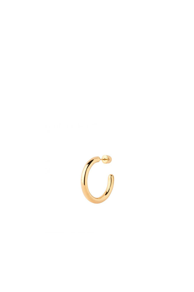 Ruby 28 Hoop Earring 100638, GOLD HP