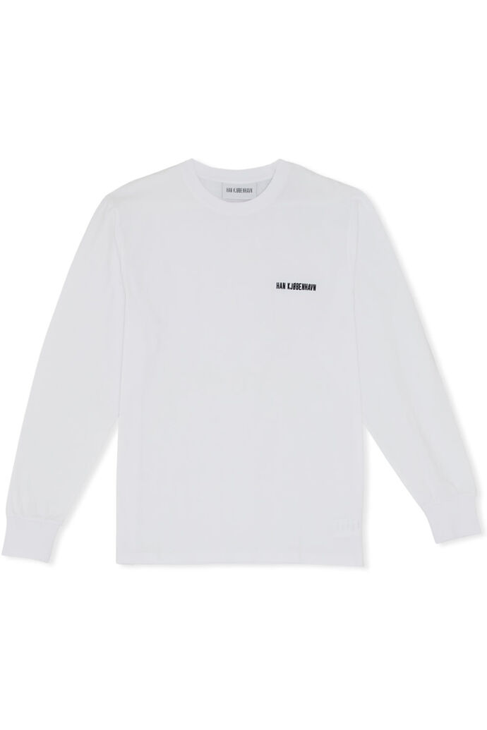 Casual long sleeve M-130113, WHITE LOGO
