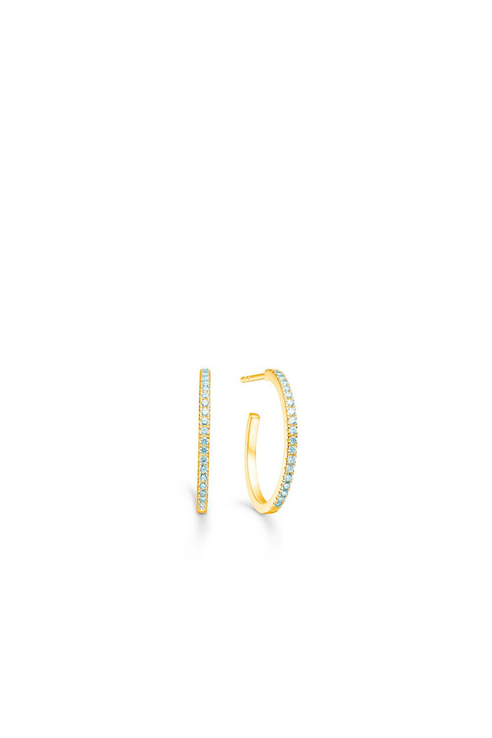 Simplicty hoops IDH010GD, GOLD/WHITE