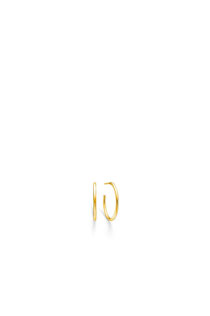Dash medium hoops IDH025GD, GOLD