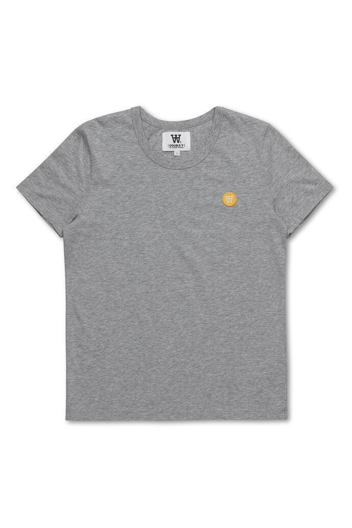 Uma T-shirt, GREY MELANGE