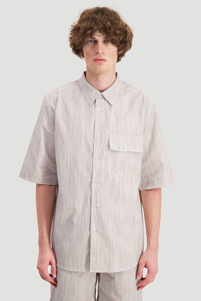 Blyg shirt, YELLOW STRIPE