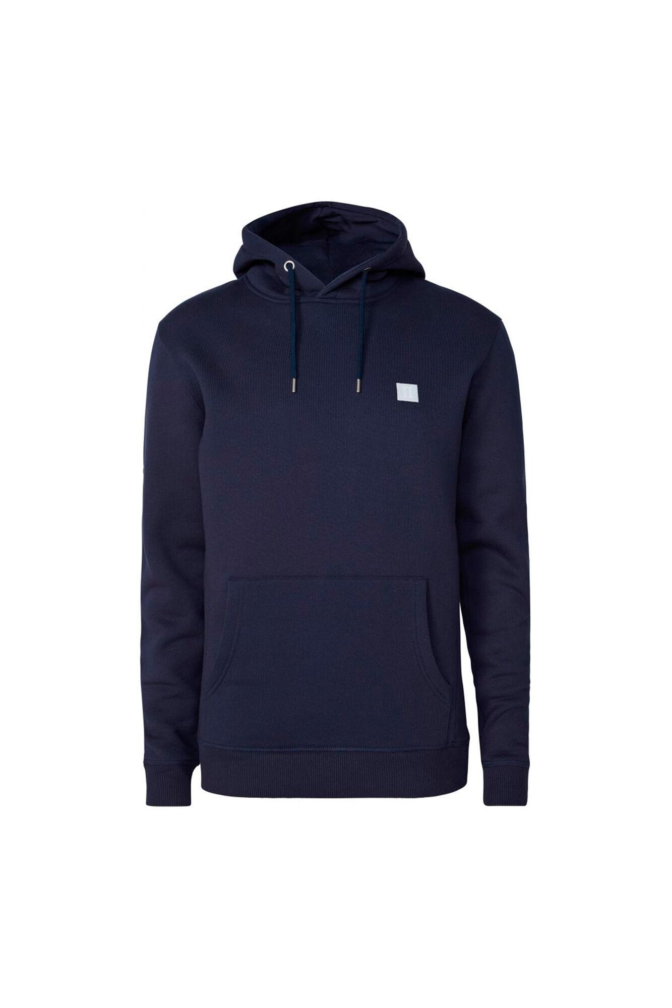 Piece hoodie LDM201017, DARK NAVY/WHITE