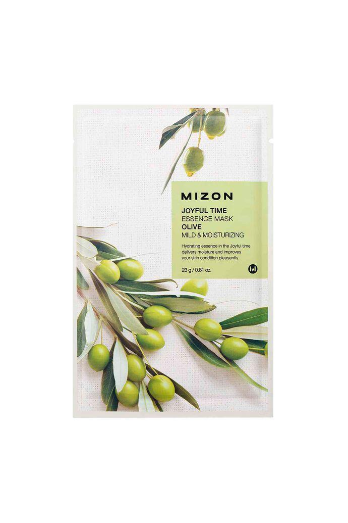 Joyful mask olive