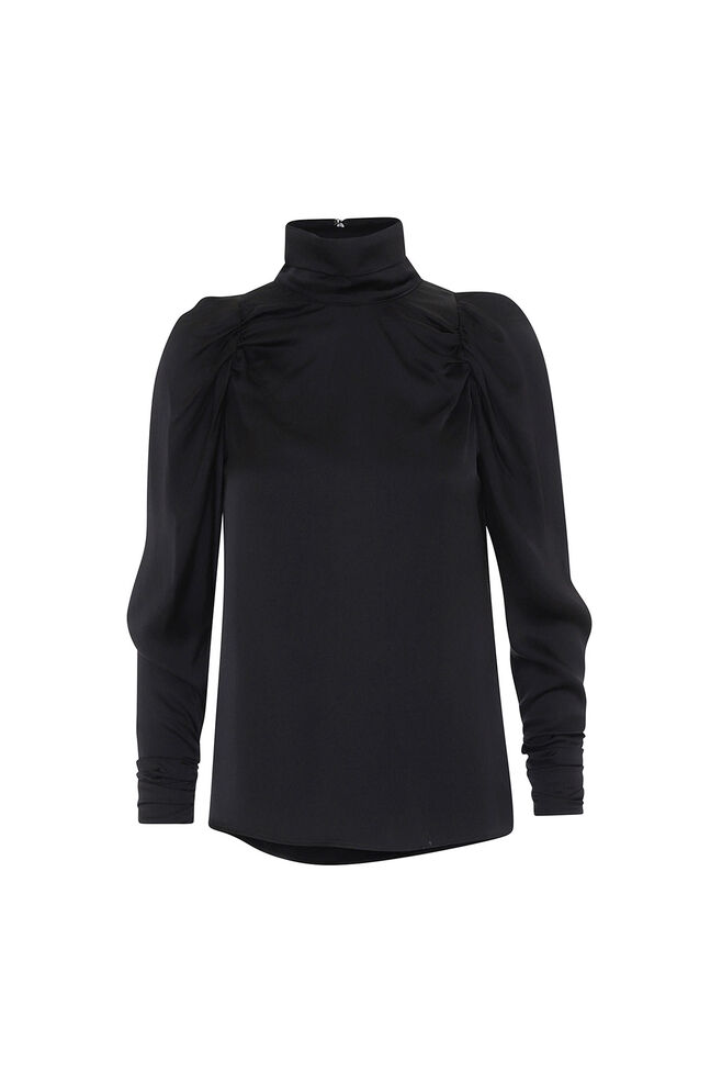 Nora blouse 3374370, BLACK
