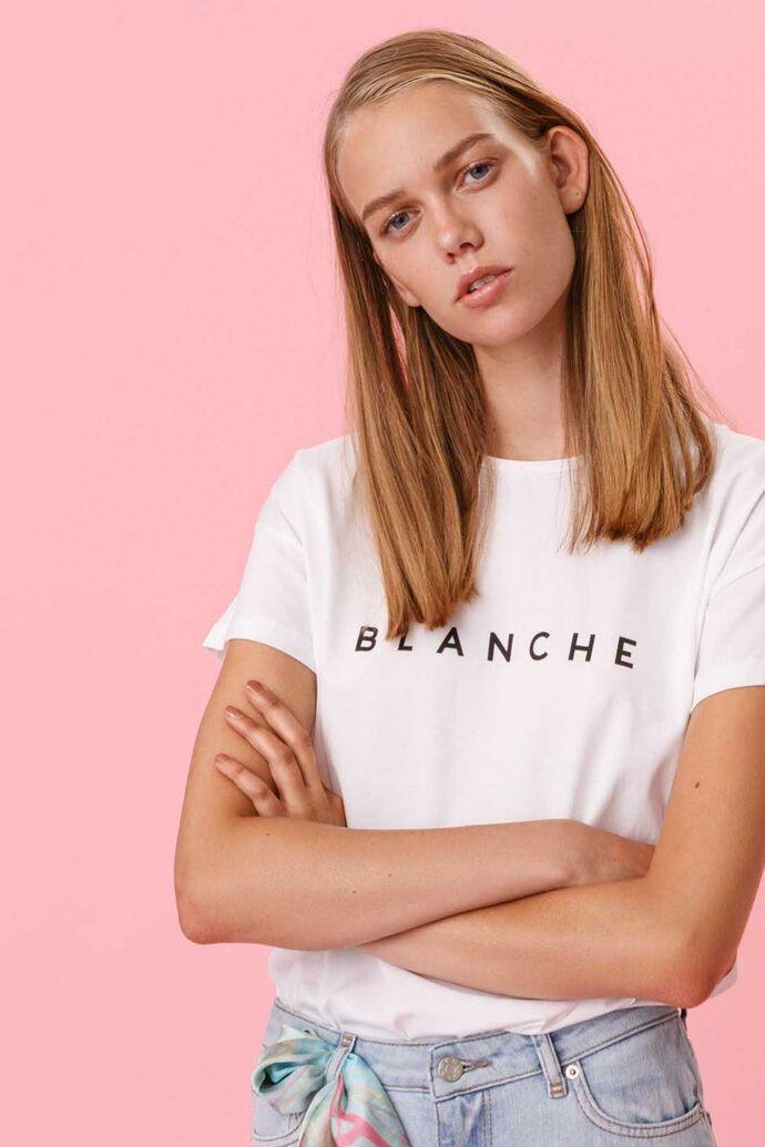 Main t-shirt, WHITE