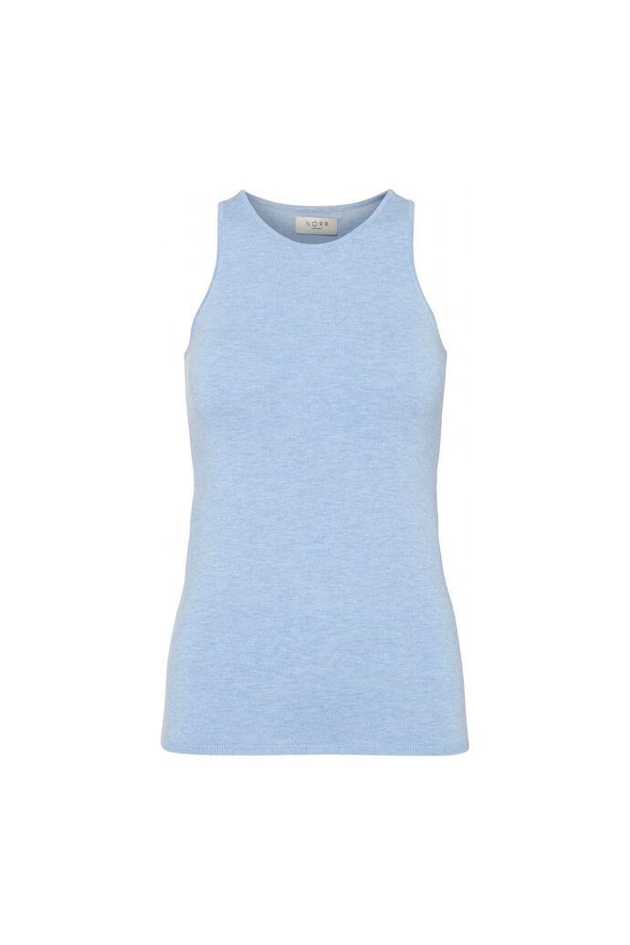 Chelsea knit tanktop 11861500, LIGHT BLUE MELANGE