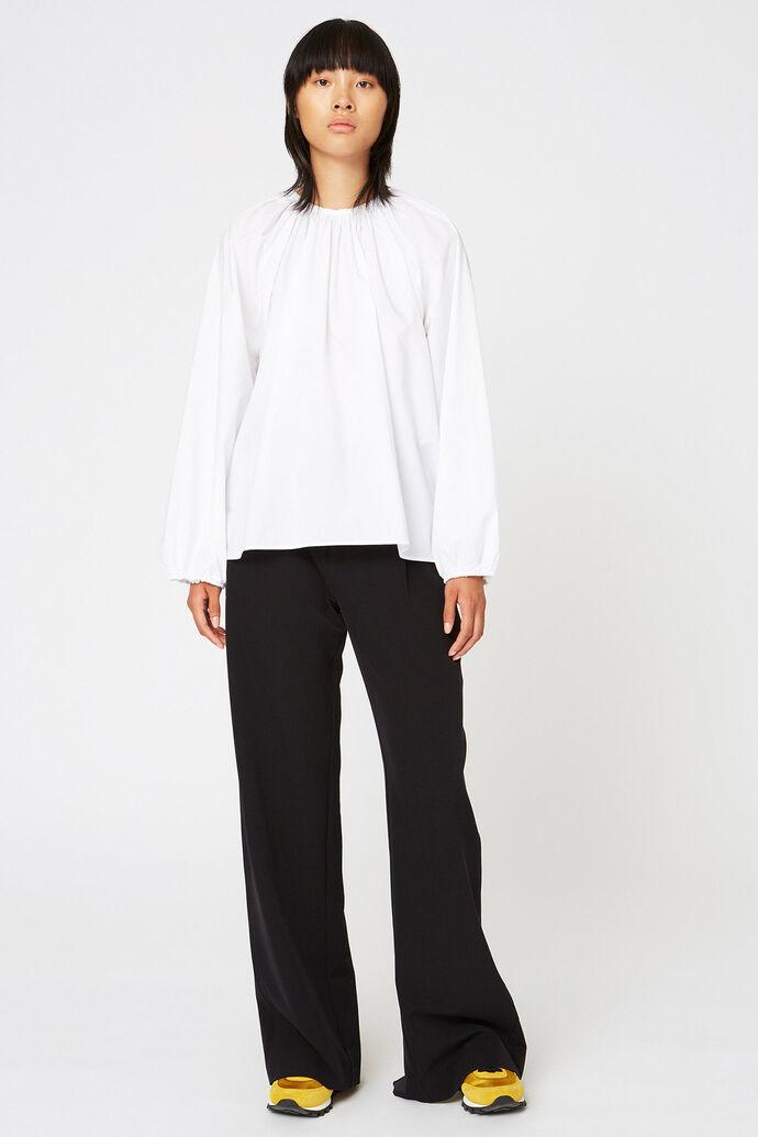Assembly shirt, WHITE