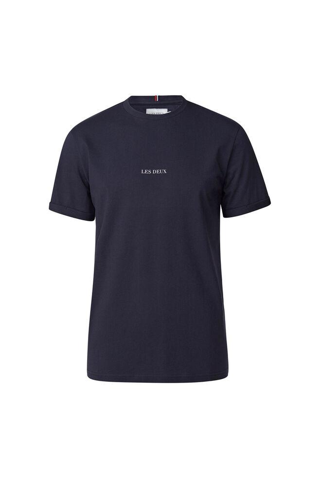 Lens t-shirt LDM101046, DARK NAVY