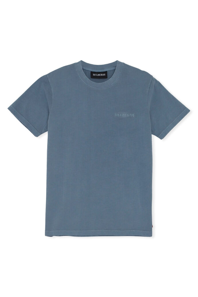 Casual tee F-130106, BLUE