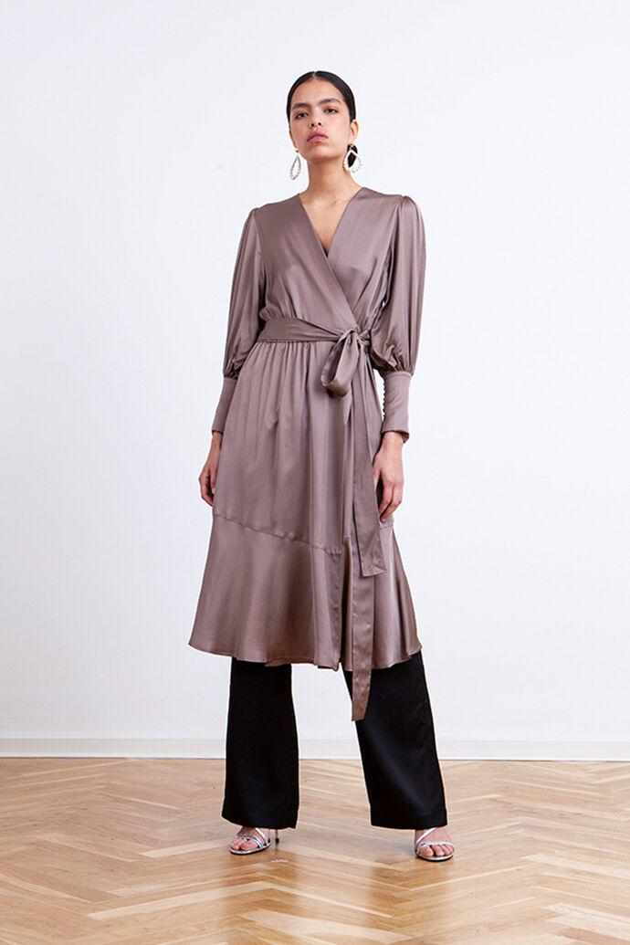Harper dress 3413370-042, CHINCHILLA