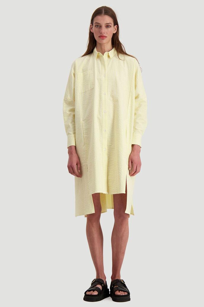 Seffern dress, LIGHT YELLOW STRIPE