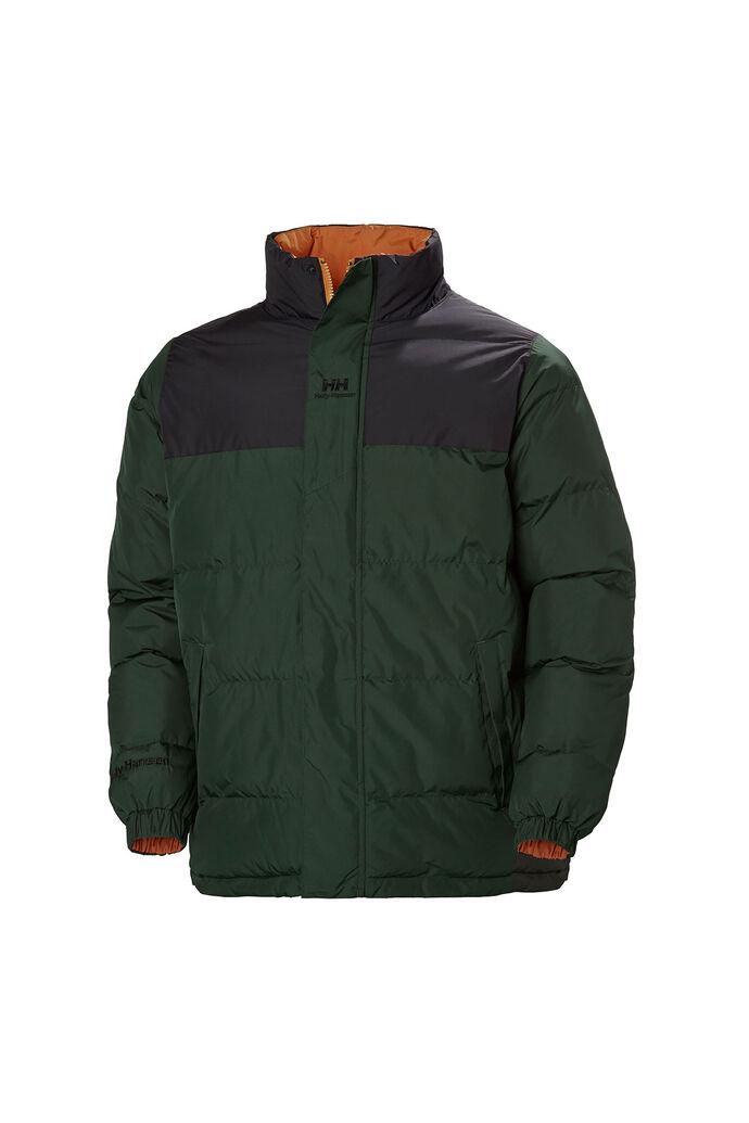 Yu puffer jacket 53380, MOUNTAIN GREEN