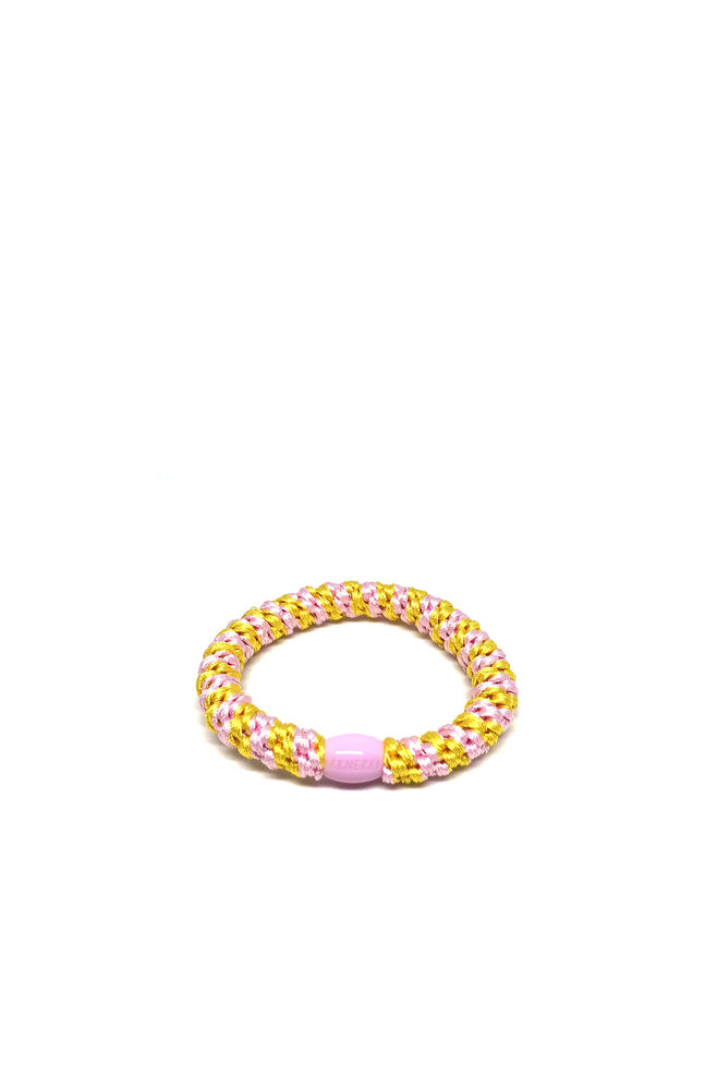Bystær hairties 9799227, MULTI LIGHT PINK/YELLOW