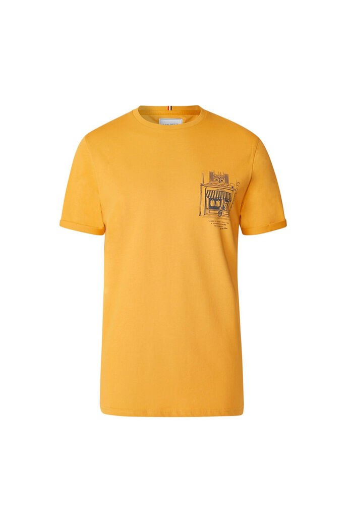Boutique t-shirt LDM101055, GOLDEN YELLOW