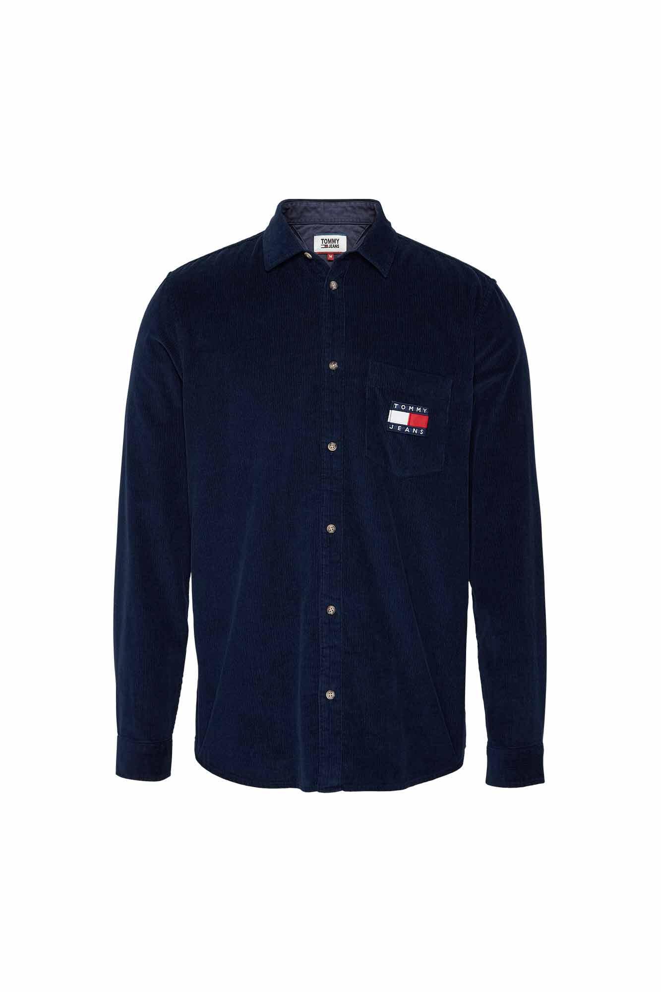 TJM cord shirt DM0DM07131, GEZ