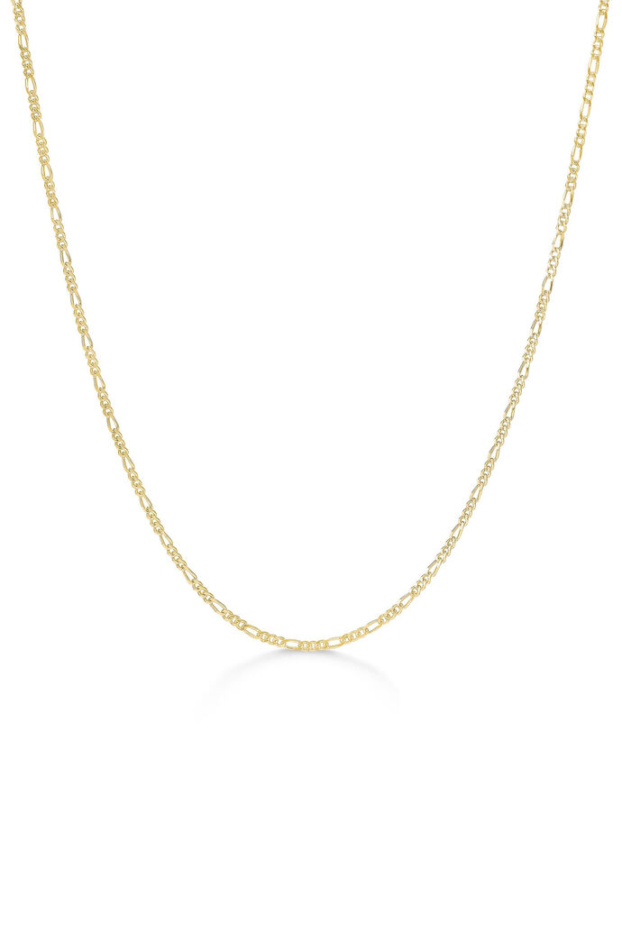 Figaro chain necklace, GOLD