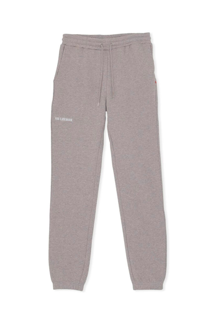 Sweat pants F-130110, GREY MELANGE
