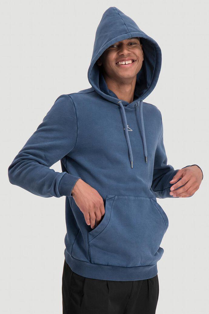 Hanger hoodie sweat 10508, NAVY WASHED